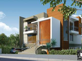 Modern home by Queiti Magalhães Arquitetura e Decorações Modern