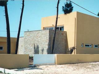 Nowoczesne domy od GAAPE - ARQUITECTURA, PLANEAMENTO E ENGENHARIA, LDA Nowoczesny