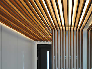Pakula & Fischer Architekten GmnH Corridor, hallway & stairsAccessories & decoration