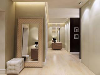 Scandinavian style corridor, hallway& stairs by Design Studio Details Scandinavian