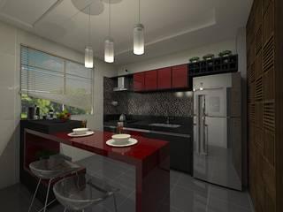 Reforma MF Cozinhas modernas por Plano A Studio Moderno