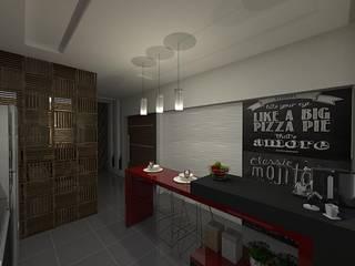 Modern kitchen by Plano A Studio Modern