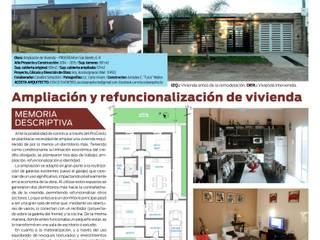 Publicación en Revista ESPACIOS (N° 59 - Octubre 2015) del Colegio de Arquitectos de la Provincia de Entre Ríos, Argentina.:  de estilo  por AA - Estudio de arquitectura