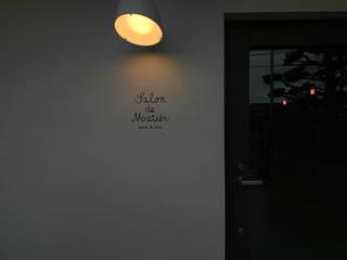 salon de matier: HIPSQUAREが手掛けた家です。,