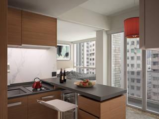 South Lane | Kennedy Town | Hong Kong:  Kitchen by Nelson W Design