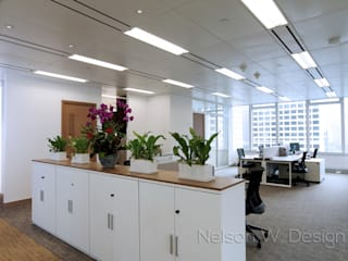 Modern commercial spaces by Nelson W Design Modern