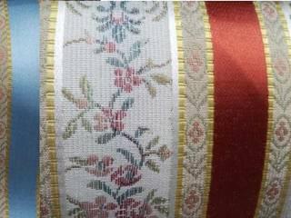 Rideau, double rideaux, store et coussin tissu ameublement style Empire décoration de luxe France:  de style  par Rideau-voile, Classique