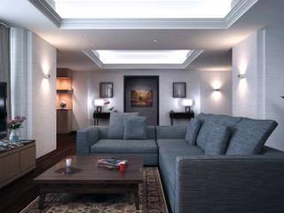 Discovery Primea | Manila:  Living room by Nelson W Design
