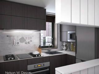 Modern kitchen by Nelson W Design Modern