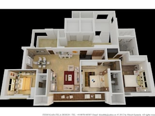 de style  par HK ARCHITECTS, Moderne