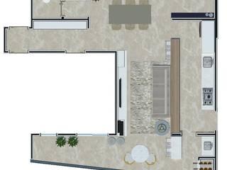 Projeto PI-EL por Dantas Arquitetura Moderno