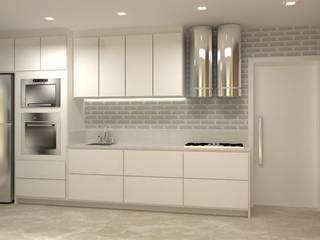 Projeto PI-EL Cozinhas modernas por Dantas Arquitetura Moderno