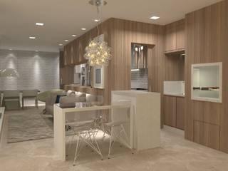 Projeto PI-EL Salas de jantar modernas por Dantas Arquitetura Moderno