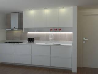 Projeto PI-FB Cozinhas modernas por Dantas Arquitetura Moderno