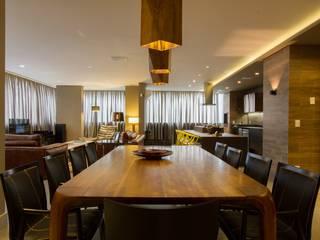 Decorado Infinity Tower Salas de jantar modernas por Dantas Arquitetura Moderno