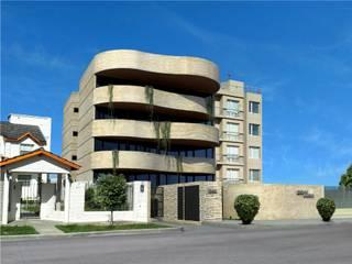 Edificio Errosion GGAL Estudio de Arquitectura Casas modernas
