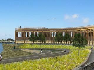Proyecto de título, estudiante de arquitectura Casas estilo moderno: ideas, arquitectura e imágenes de 3DT Render Moderno