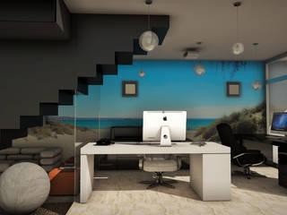 THE BLOCK: Estudios y oficinas de estilo  por GGAL Estudio de Arquitectura