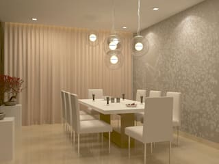 Dining room by De Panache  - Interior Architects