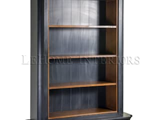 LeHome Interiors Study/officeCupboards & shelving Wood Black