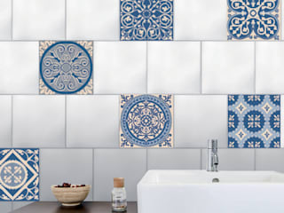 Revitalizar sus azulejos : Azul de Wall Sweet Home - Plage SA Mediterráneo