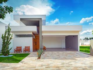 Integração Total: Casas  por ADRIANA MELLO ARQUITETURA,Moderno