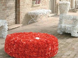 13RiCrea Casas de estilo ecléctico Compuestos de madera y plástico Rojo