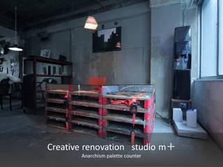 studio m+ by masato fujii Study/officeDesks