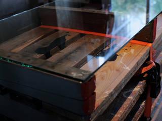 studio m+ by masato fujii Study/officeDesks Wood