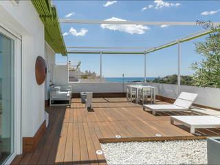 Varandas, alpendres e terraços modernos por Per Hansen Moderno