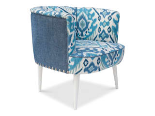 OPAQUE BLUE Armchair:   by MUMINT