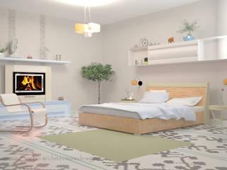 Camera da letto: Camera da letto in stile  di Arch. Sorbo
