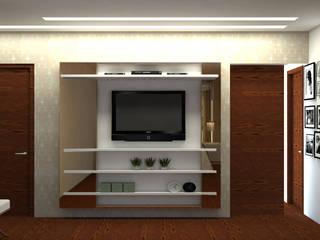 RESIDÊNCIA N|V Quartos modernos por Karen Paranhos Interiores Moderno