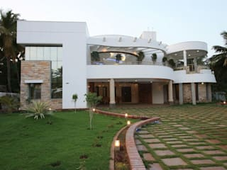 منازل تنفيذ Ansari Architects, حداثي