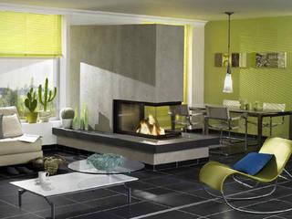 Ruang Keluarga Modern Oleh Zerresquadrat GmbH Modern