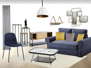 Un salon fonctionnel et raffiné Salon classique par Mon Intérieur Sur Mesure (MISM) Classique