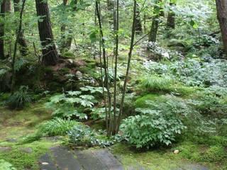 有明K邸 Modern garden by 庭のクニフジ Modern