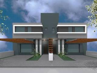 Renderizado Casas modernas: Ideas, imágenes y decoración de Externa Arquitectura Moderno
