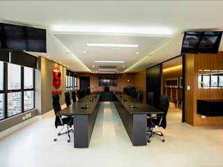 Commercial Spaces by Arquitetura Ao Cubo LTDA, Modern