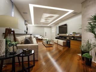 Arquitetura Ao Cubo LTDA غرفة المعيشة