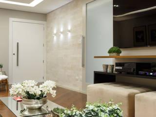Livings de estilo moderno de Arquitetura Ao Cubo LTDA Moderno