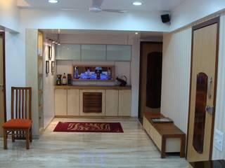 Residence Shivaji Park Cocinas de estilo moderno de TRINITY DESIGN STUDIO Moderno