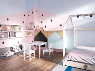 JUSSS Nursery/kid's room Pink