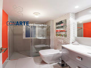 Modern bathroom by Conarte cocinas Modern