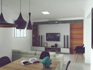 modern  by ZEP Arquitetura, Modern