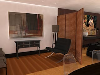 Private| interior design architecture Salon original par IDesign.art by Paula Gouveia Éclectique