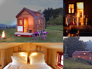 TINY HOUSE CONCEPT - BERARD FREDERIC Eclectic style houses Solid Wood