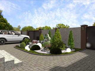 Ландшафтный проект в прибрежном: Сады в . Автор – Студия архитектуры и дизайна Вояджи Дарьи