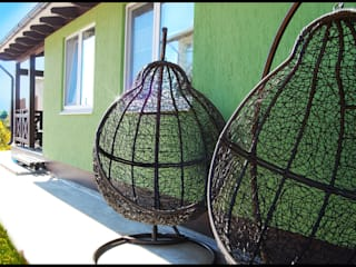 Casas estilo moderno: ideas, arquitectura e imágenes de Студия архитектуры и дизайна Вояджи Дарьи Moderno