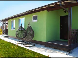 Projekty,  Domy zaprojektowane przez Студия архитектуры и дизайна Вояджи Дарьи